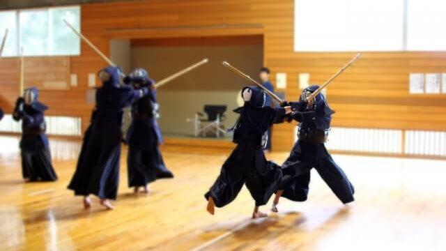 剣道の練習